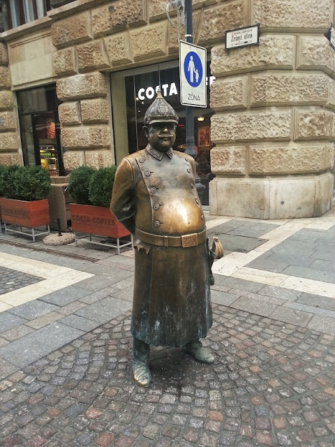 statua di bronzo budapest