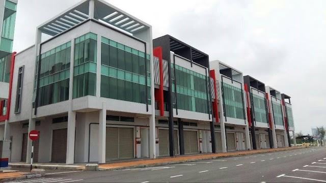 3 STOREY SHOP OFFICE, KLEBANG BUSINESS PARK, MELAKA