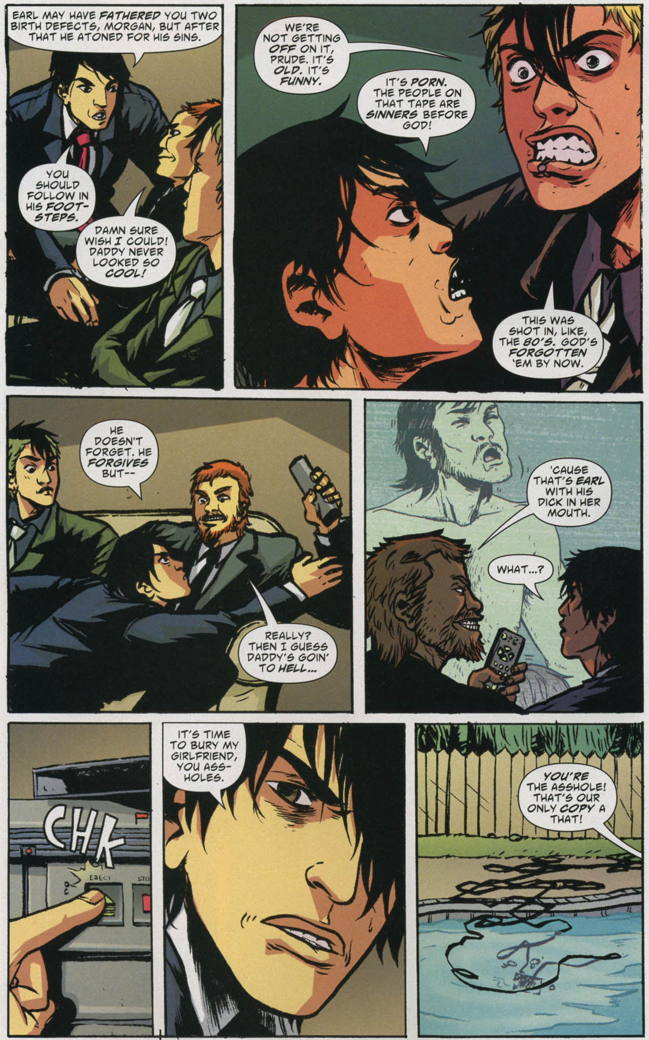 Read online American Virgin comic -  Issue #5 - 7