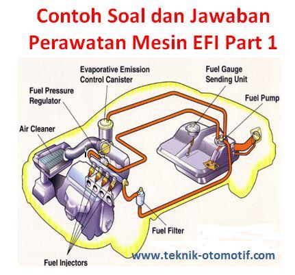 Contoh Soal Dan Jawaban Perawatan Mesin Efi Part 1 Teknik Otomotif Com