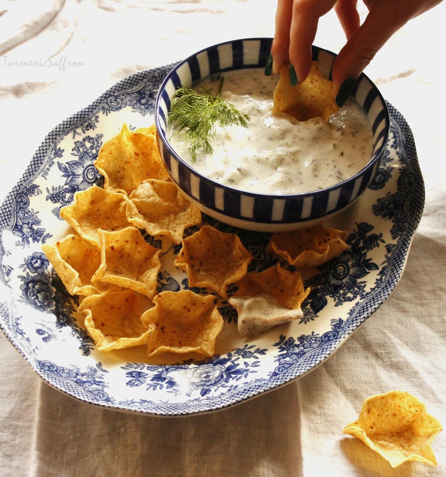 Turmeric & Saffron: Mast-o-Khiar - Persian Yogurt and ...