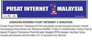 Pusat Internet Kerja Kosong