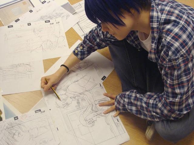 Bakuman. Cosplay Morikata Mashiro w wykonaniu KyongF