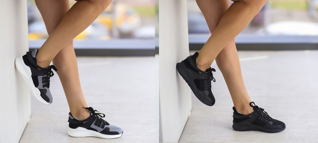 Adidasi moderni fete ieftini online negri, gri la moda vara 2016