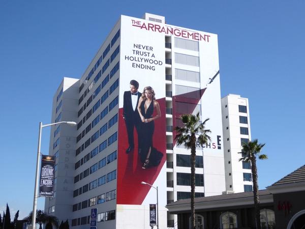 Arrangement series premiere billboard