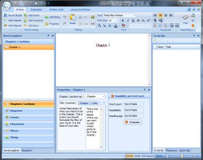 writing a novel software for mac