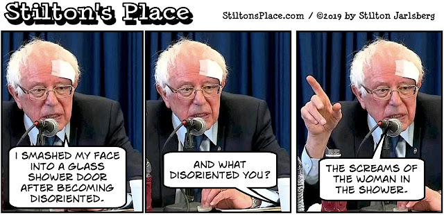 stilton's place, stilton, political, humor, conservative, cartoons, jokes, hope n' change, st patrick's day, busty ross, green, new zealand, massacre, chelsea, bernie sanders, shower door