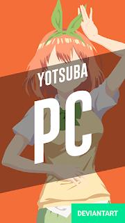 Yotsuba Nakano - Gotoubun no Hanayome Wallpaper