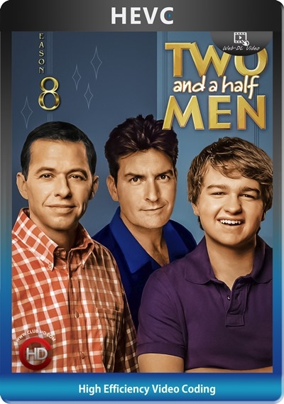 Two And Half Men (2010) S08 1080p AMZN WEB-DL Dual Latino-Inglés [HEVC-10bit] [Subt. Esp] (Serie De TV. Comedia)