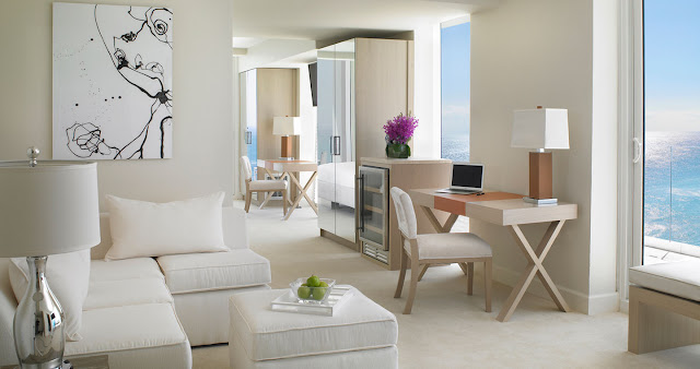 The Grand Beach Hotel Surfside, a Beach Front Miami Hotel, in Surfside between Miami Beach & Bal Harbour, Florida.