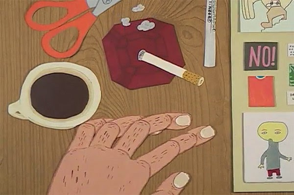 The Collagist Amy Lockhart Marc Bell animatedfilmreviews.filminspector.com