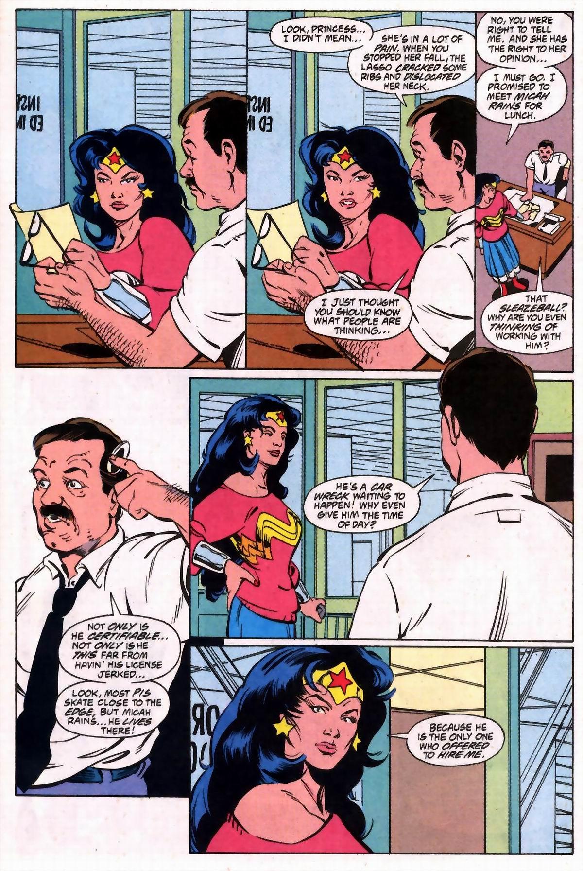 Read online Wonder Woman (1987) comic -  Issue #74 - 8