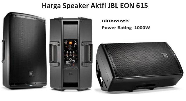 Harga dan Spesifikasi JBL EON 615 Speaker Bluetooth Aktif 15 Inch