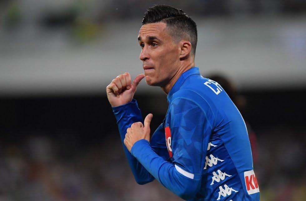 Napoli-Lazio Risultato finale 2-1, gol Immobile Milik Callejon, espulso Acerbi