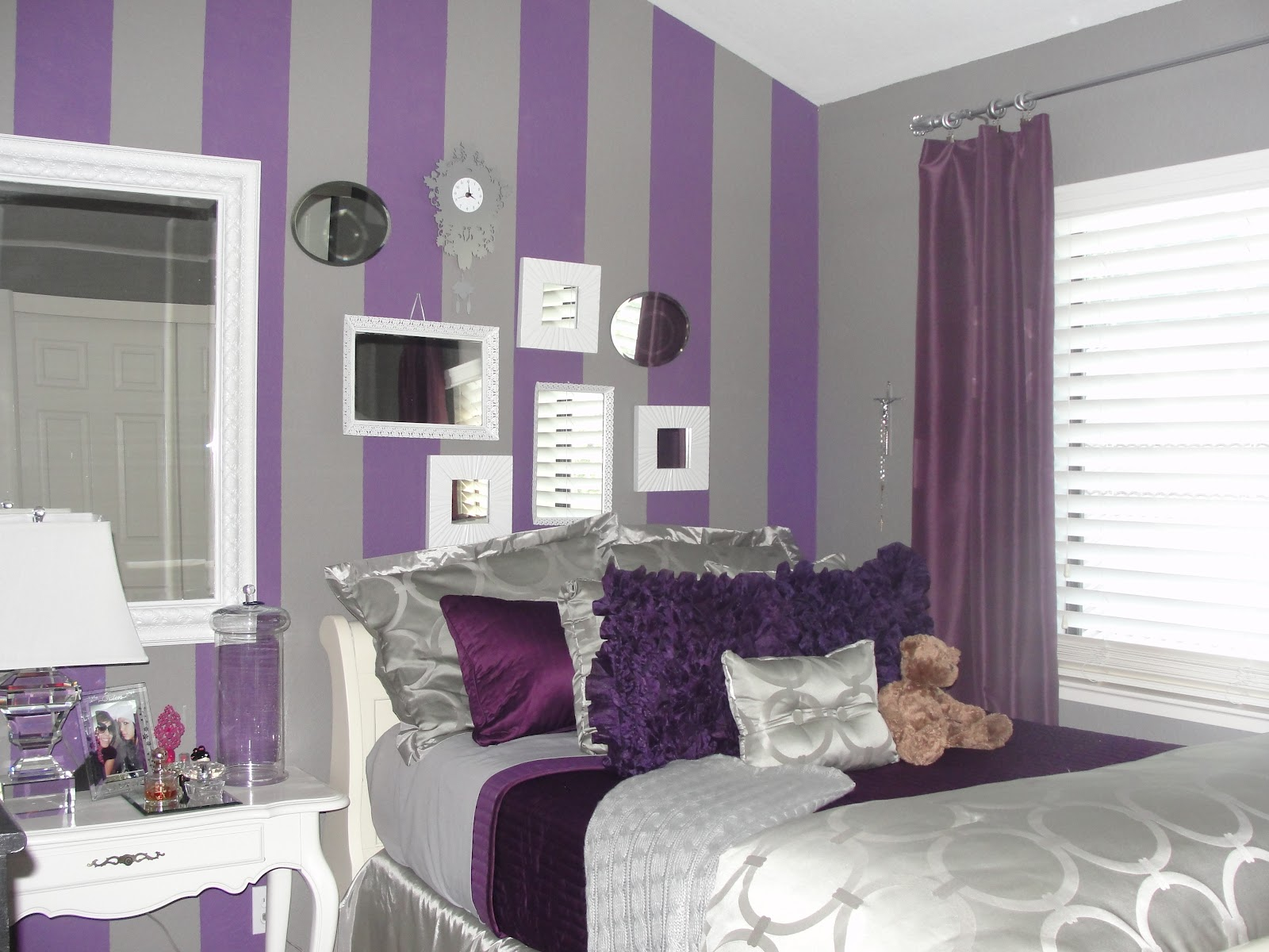 Grey And Purple Bedroom Pictures A1houston Com Grey And Purple Bedroom  Paint Ideas Bedroom Style. Purple And Gray Bedroom   PierPointSprings com