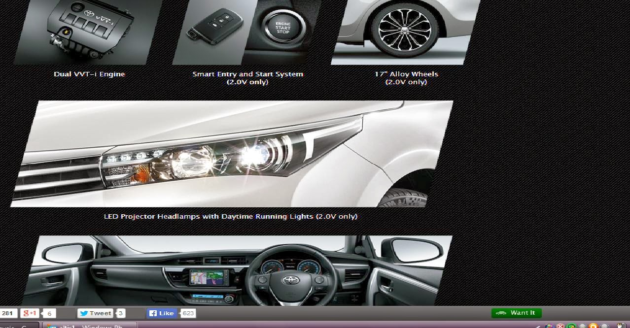 So there you have it the new toyota altis soon to be launched over here remember you saw it here first