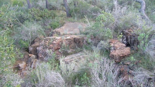 Cova dels Lladres, Calderona