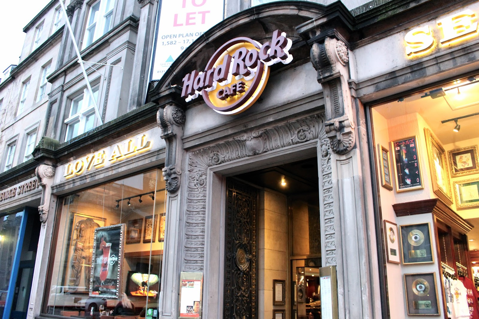 Hard Rock Cafe Edinburgh review
