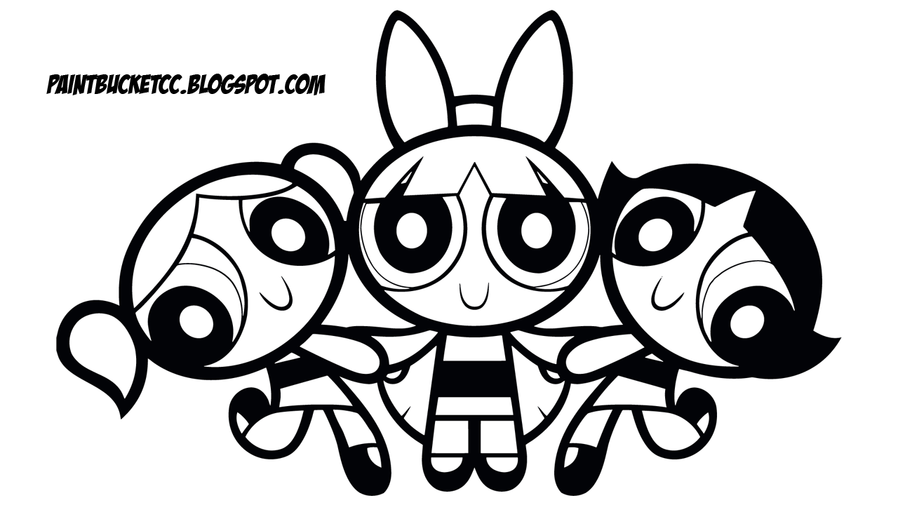 Free Printable The Powerpuff Girls Clip Art