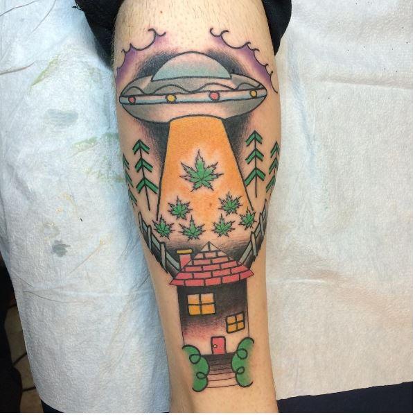 UFO Tattoos
