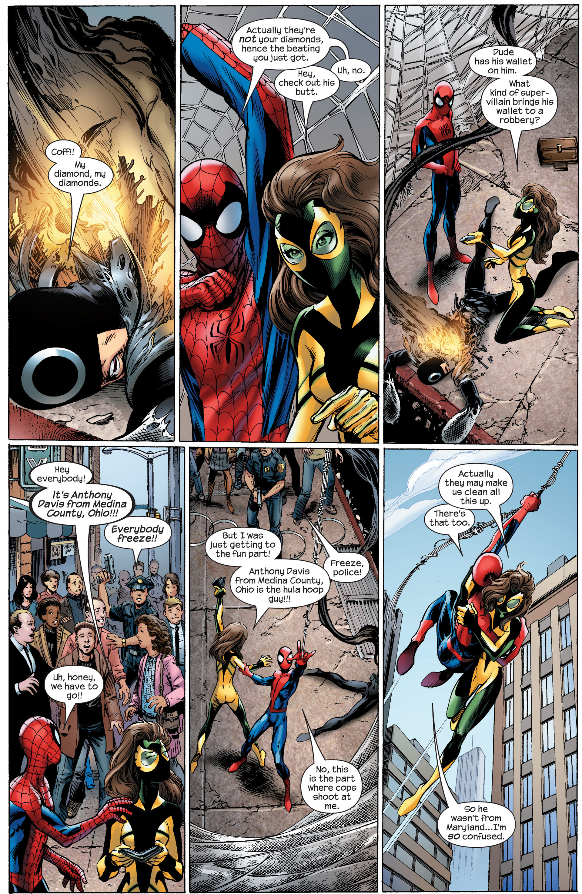 Read online Ultimate Spider-Man (2000) comic -  Issue #91 - 9