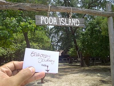 poda islan di Phuket Thailand