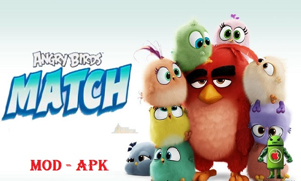 Download Angry Birds Match Mod Apk Unlimited Money & Coins