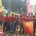 Lintasi 7 Desa, Bagikan 350 Paket Sembako, Gudang Garam Tbk Dukung Latber Trail Dan Baksos Polres Kediri