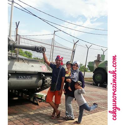 Tempat menarik port dickson, muzium tentera darat port dickson, army museum port dickson, muzium tentera port dickson