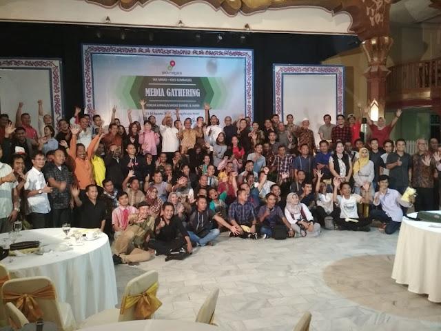 FJM SKK Migas KKKS Sumbagsel Jalin Siaturahmi Lewat Media Gathering
