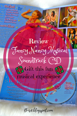 Gift the Fancy Nancy The Musical CD