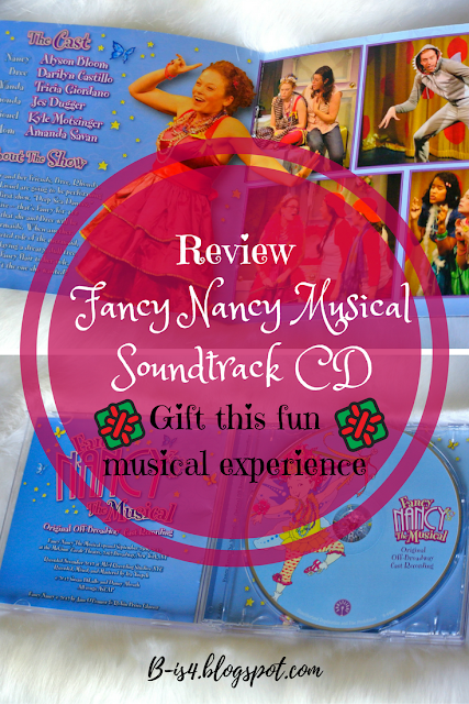 Fancy Nancy The Musical CD
