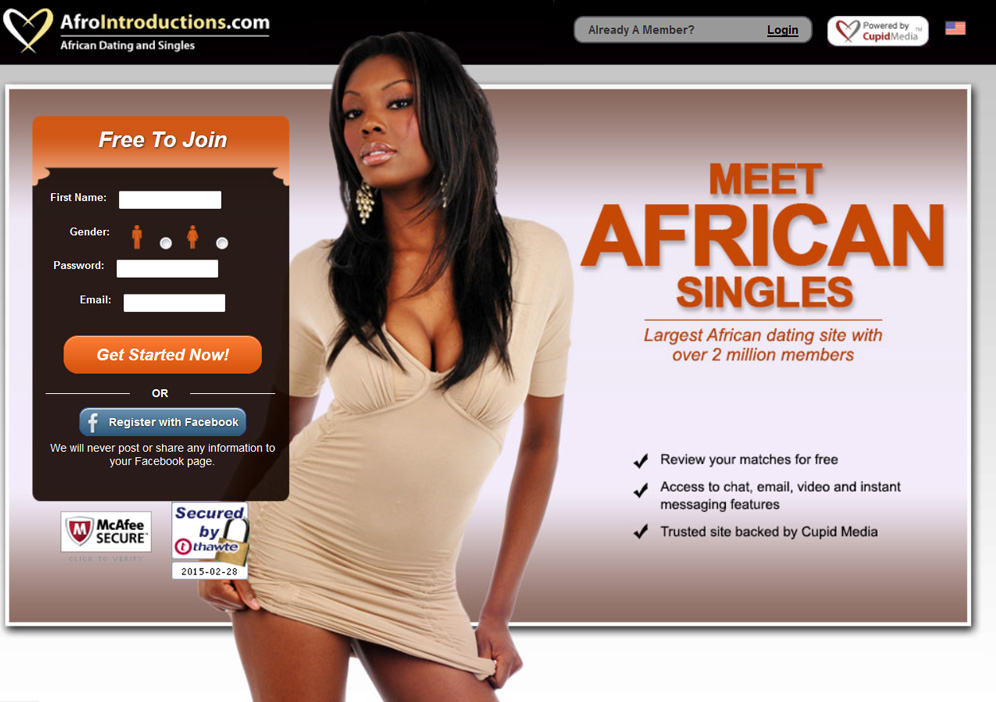 free dating site for black american