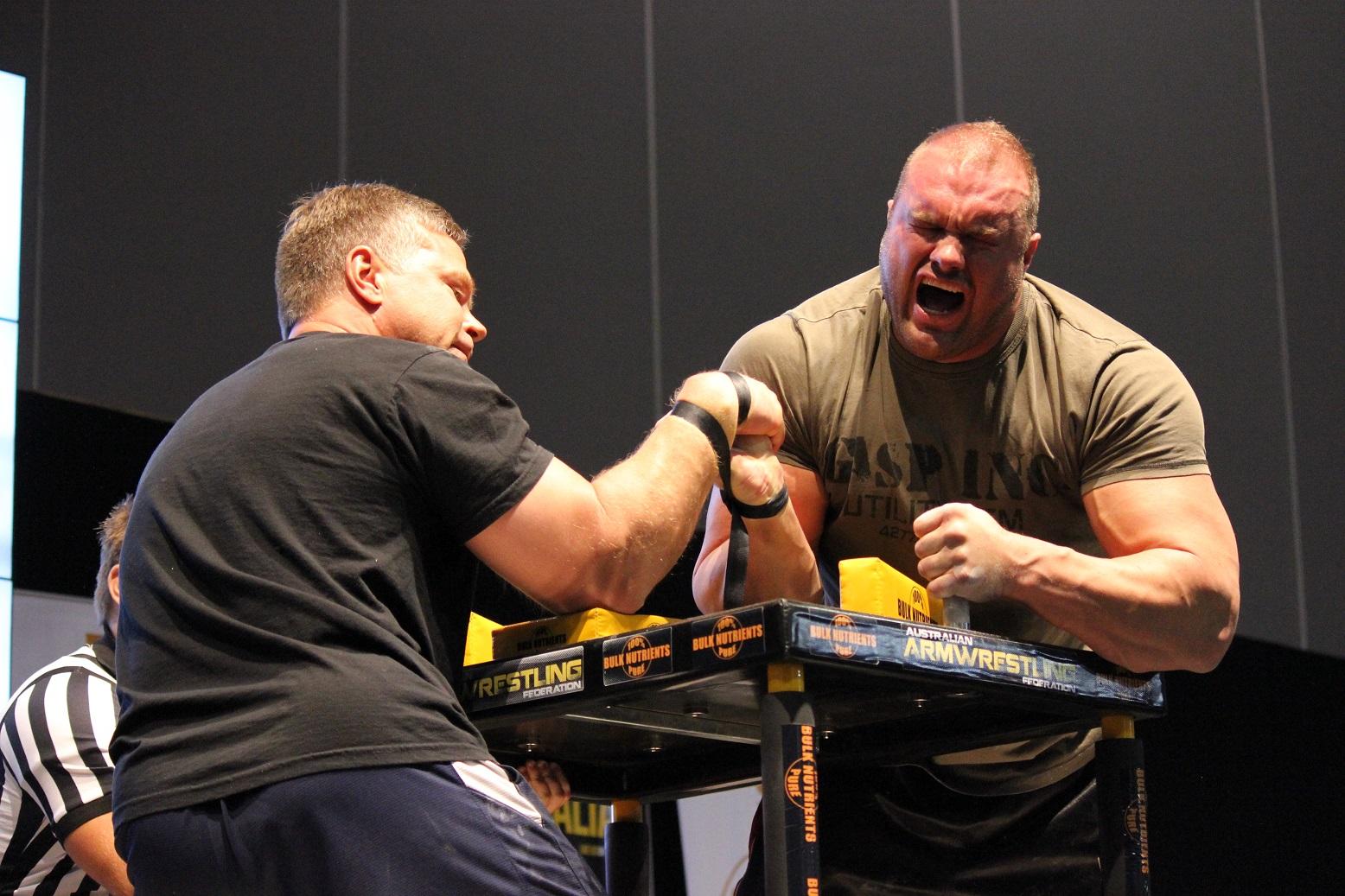 Water Vs Fire Arm Wrestling: Armwrestlers ONLY: John Brzenk