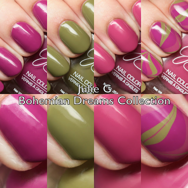 Julie G Nails Bohemian Dreams Collection