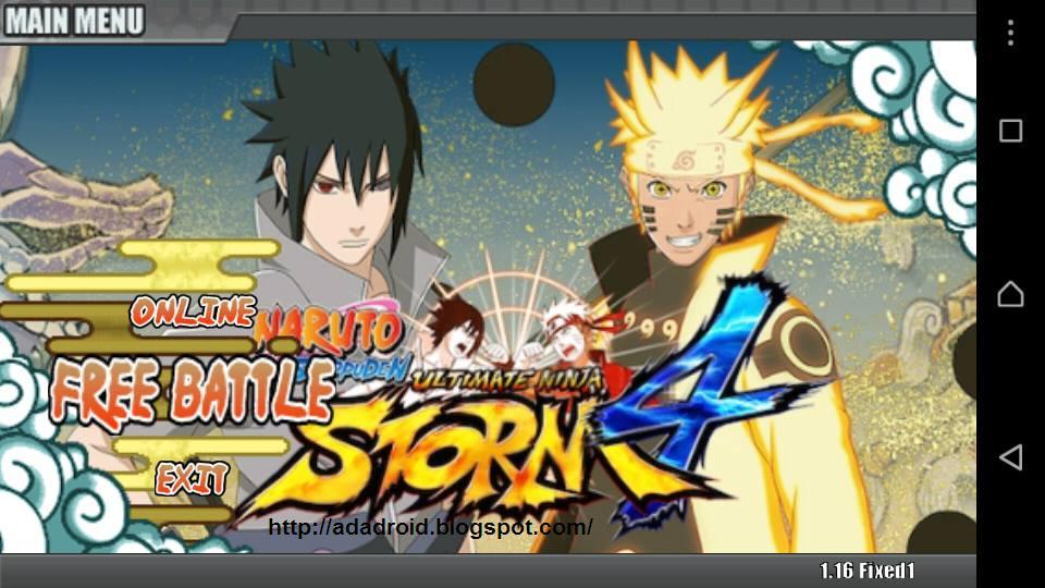 Download Game Naruto Senki Apk Full Karakter Edtgame