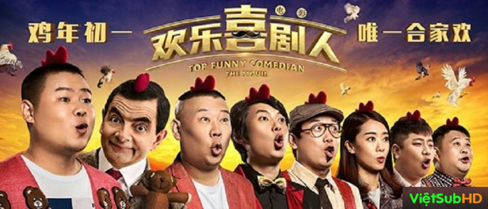 Phim Danh Hài Hội Ngộ Thuyết minh HD | Top Funny Comedian: The Movie 2017
