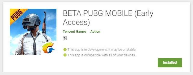 PUBG Mobile beta sürümü Google Play Store'dan nasıl indirilir?