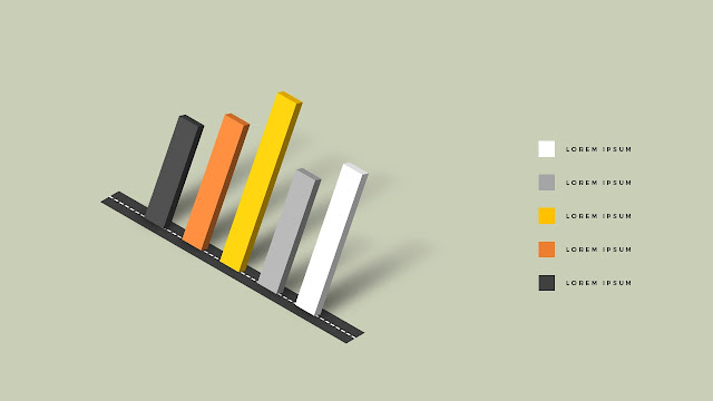 isometric elements for PowerPoint Slide 2