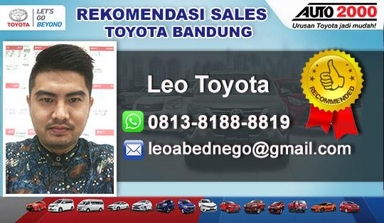 Rekomendasi Sales Toyota Dago Bandung