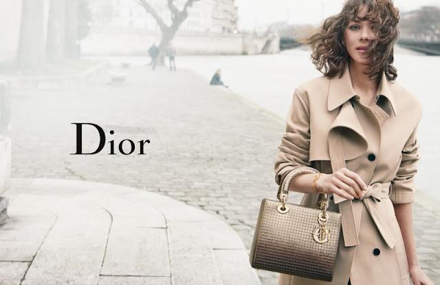 Lady Dior Spring/Summer 2016 Campaign featuring Marion Cotillard
