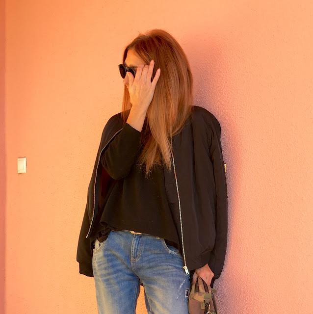 JustFab, Leopardo, bomber, look, street style, donde comprar, Moda, Blog de moda, Fashion blogger, Look