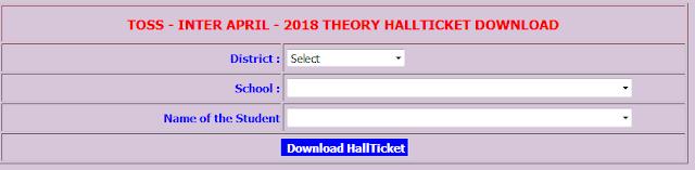 TSOSS Inter Hall Tickets