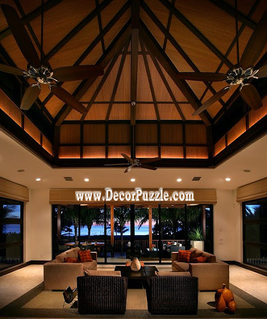 high ceiling ideas with beams, beams ceiling design ideas