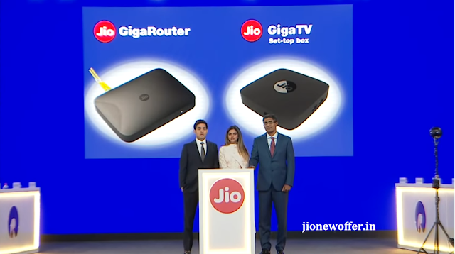 Reliance Jio GigaFiber Preview Offer 2019 - 100GB free data for first 3 months