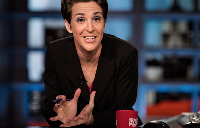 Rachel Maddow Wins Night 3 As Donald Trump's Really Bad Week Continues