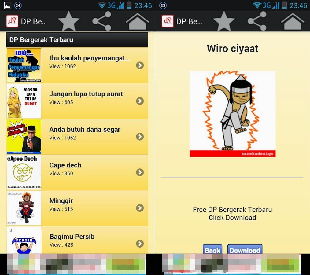 Download Kumpulan DP Gambar BBM Bergerak Animasi GIF