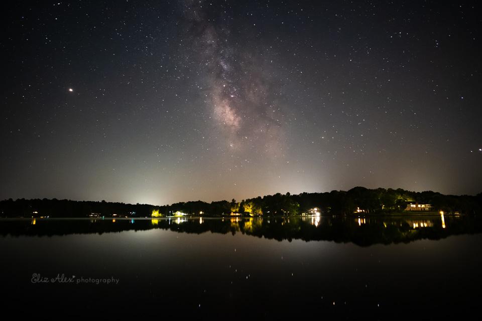 Milky Way at Lake Monticello Virginia