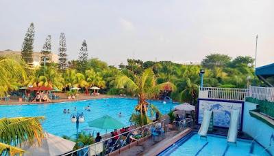 Kolam Renang Merci Theme Park Medan