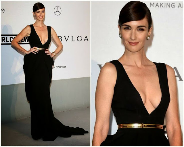 Paz Vega in Fitriani Couture – amfAR Cinema Against Aids Gala